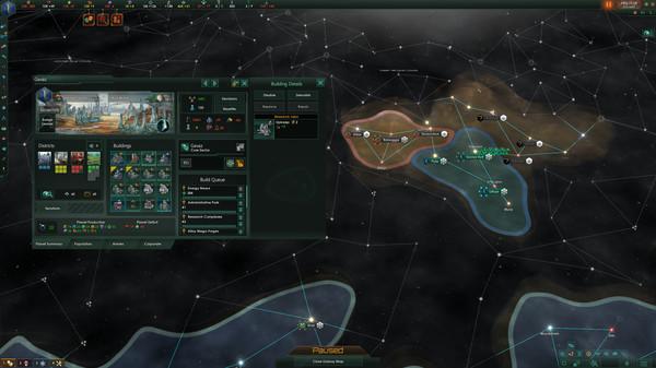 Capture d'écran n°1 du Jeu Stellaris