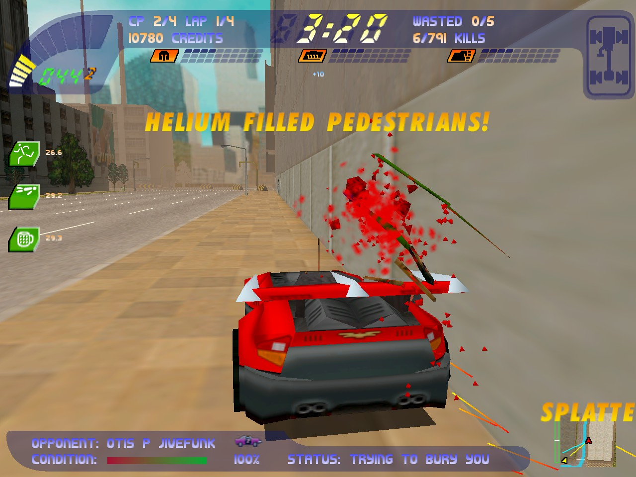 Carmageddon 2: Carpocalypse Now screenshot 1