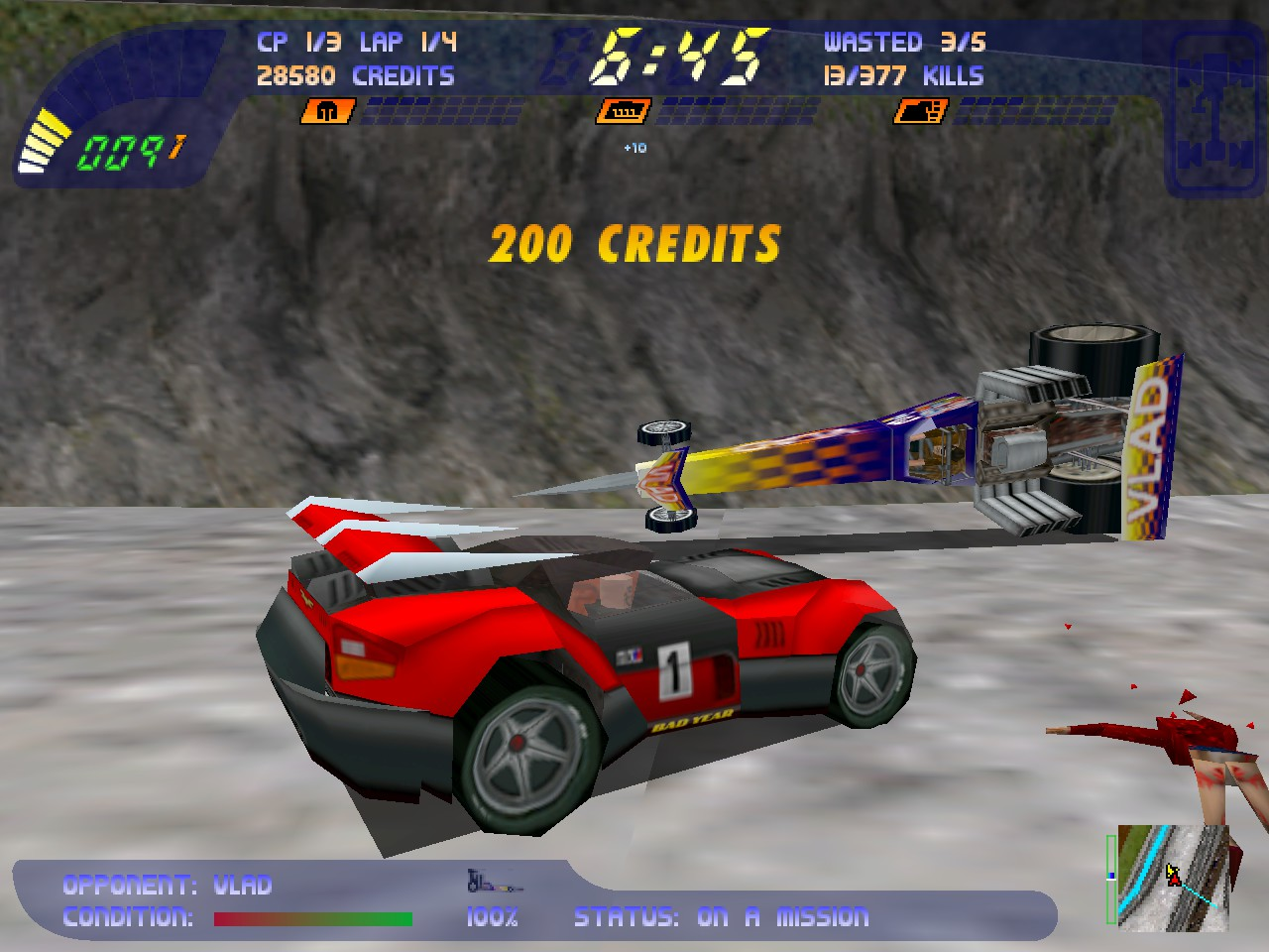 Carmageddon 2: Carpocalypse Now screenshot 3