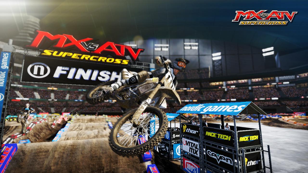 MX vs ATV Supercross Multilenguaje ESPAÑOL XBOX 360 (Region FREE) (COMPLEX) 4