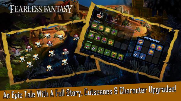 скриншот Fearless Fantasy 3