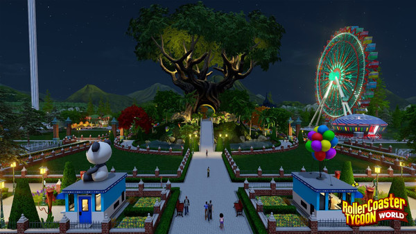 скриншот RollerCoaster Tycoon World 0
