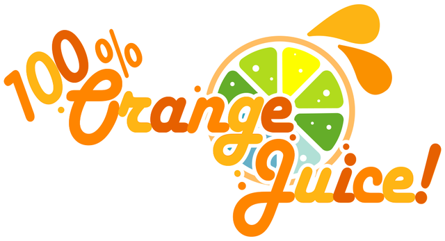 100% Orange Juice logo