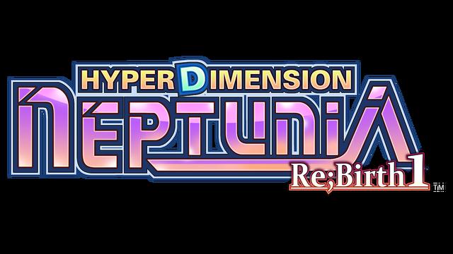 Hyperdimension Neptunia Re;Birth1 logo
