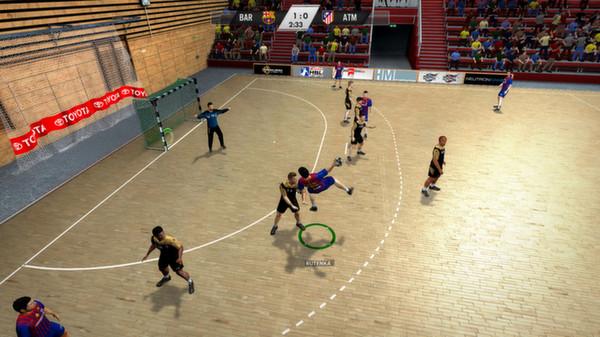 скриншот IHF Handball Challenge 12 1