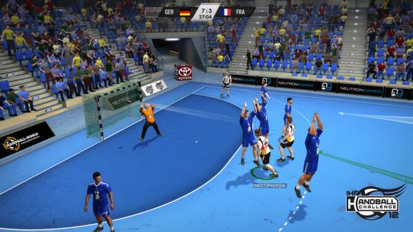 скриншот IHF Handball Challenge 12 2