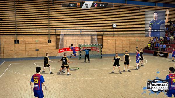 скриншот IHF Handball Challenge 12 5