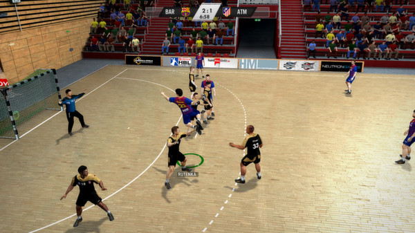 скриншот IHF Handball Challenge 12 3