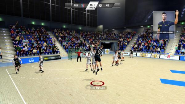 скриншот IHF Handball Challenge 12 4