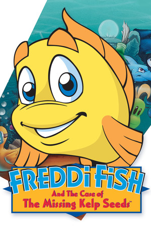 Freddi Fish and the Case of the Missing Kelp Seeds poster image on Steam Backlog