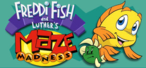 Freddi Fish and Luther's Maze Madness cover art