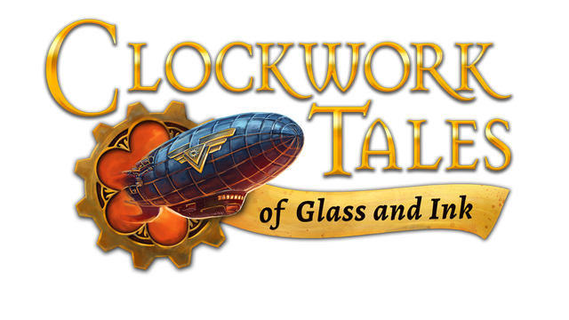 Clockwork Tales: Of Glass and Ink logo