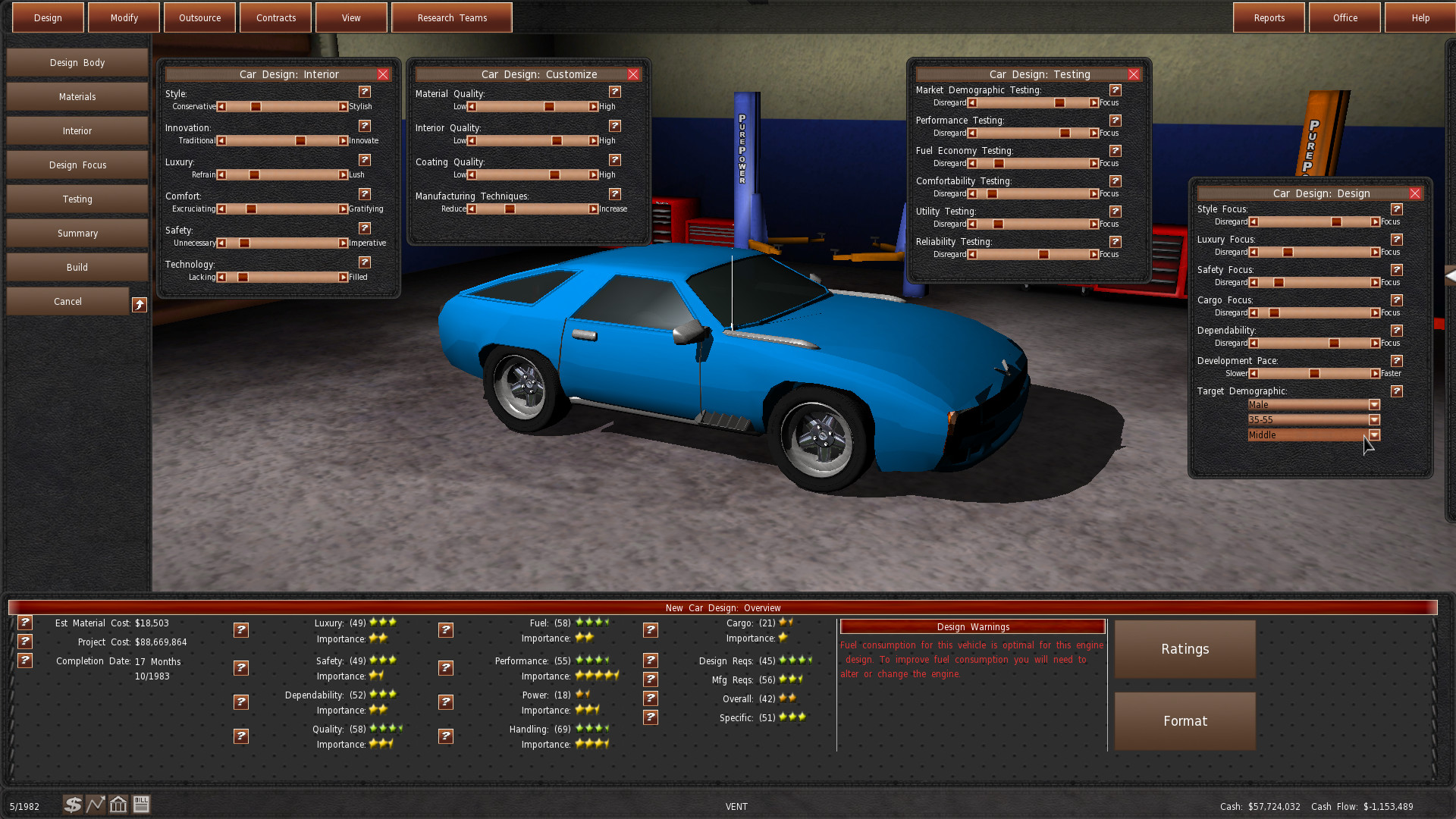 Build A Car Game >> Gearcity