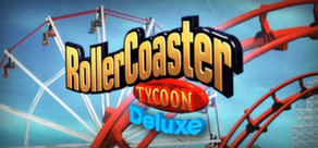 RollerCoaster Tycoon: Deluxe cover art