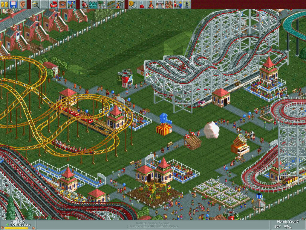 RollerCoaster Tycoon Classic: Neuauflage des Kult-Spiels