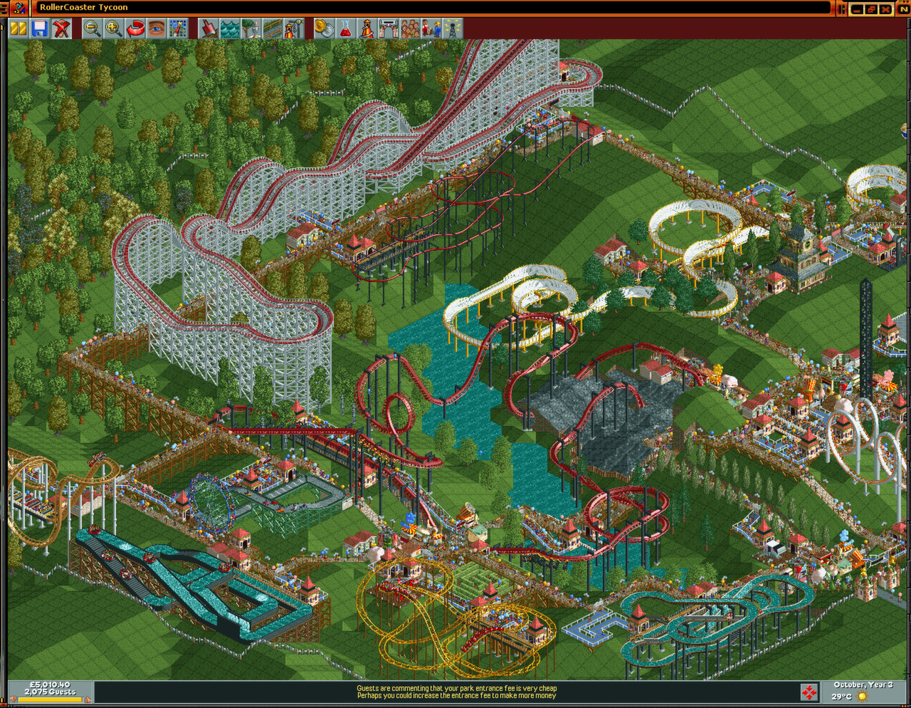 roller coaster tycoon 2 download mac os x