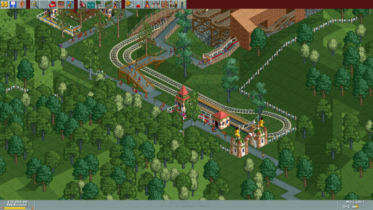 roller coaster tycoon deluxe free download full version for pc