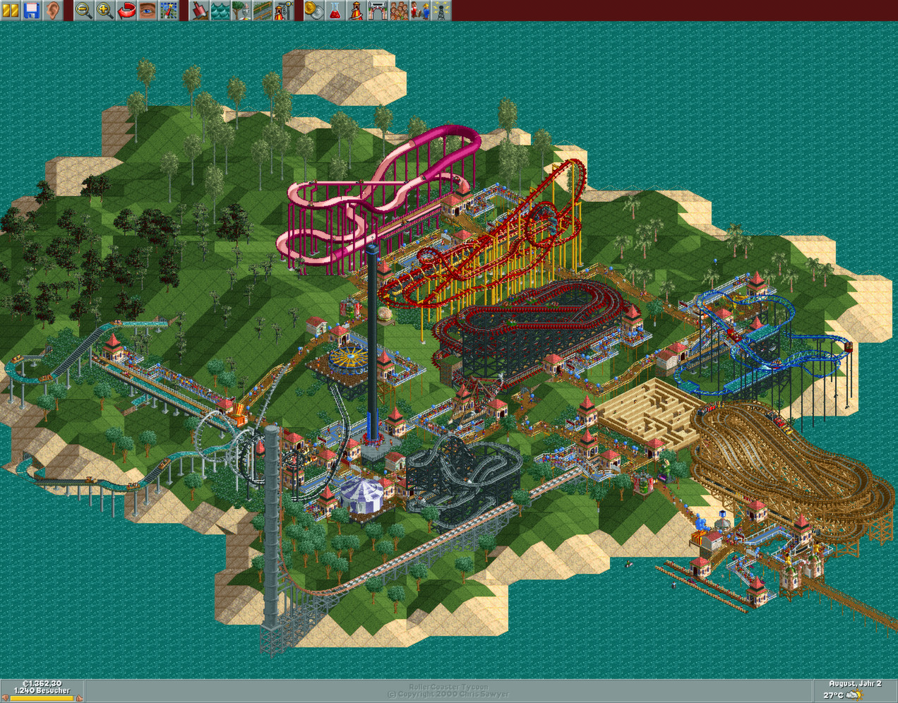 Best Roller Coaster Tycoon? 1, 2, or 3? : patientgamers
