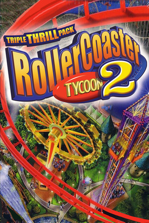 RollerCoaster Tycoon 2: Triple Thrill Pack poster image on Steam Backlog