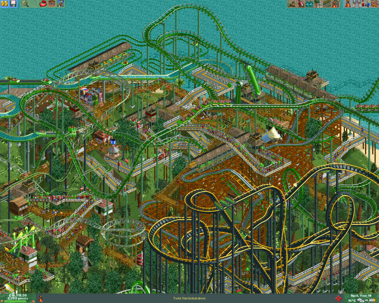 Find the best laptop for RCT2:TTP