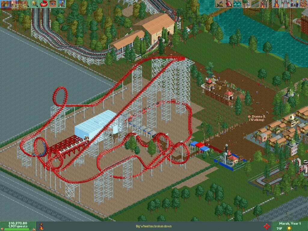 RollerCoaster Tycoon® 2: Triple Thrill Pack on Steam