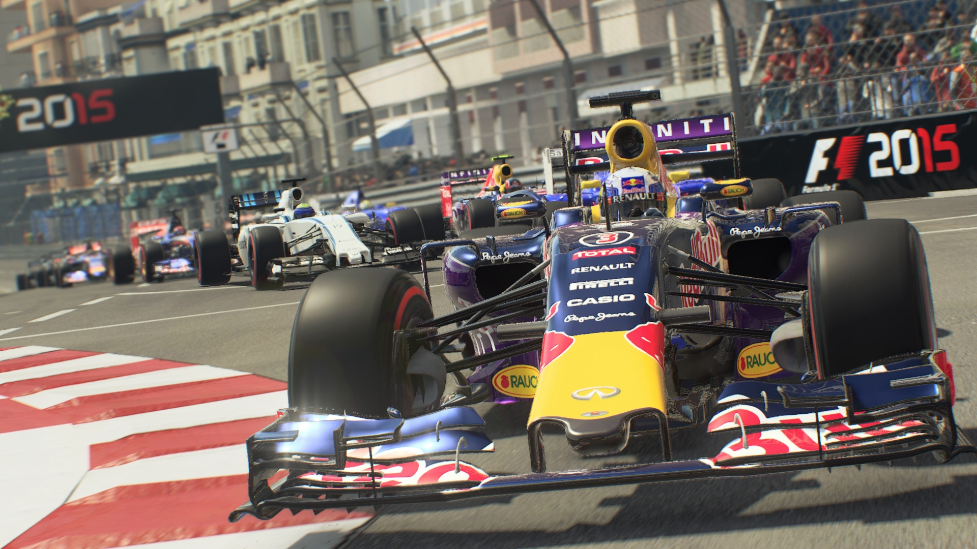Find the best laptop for F1 2015