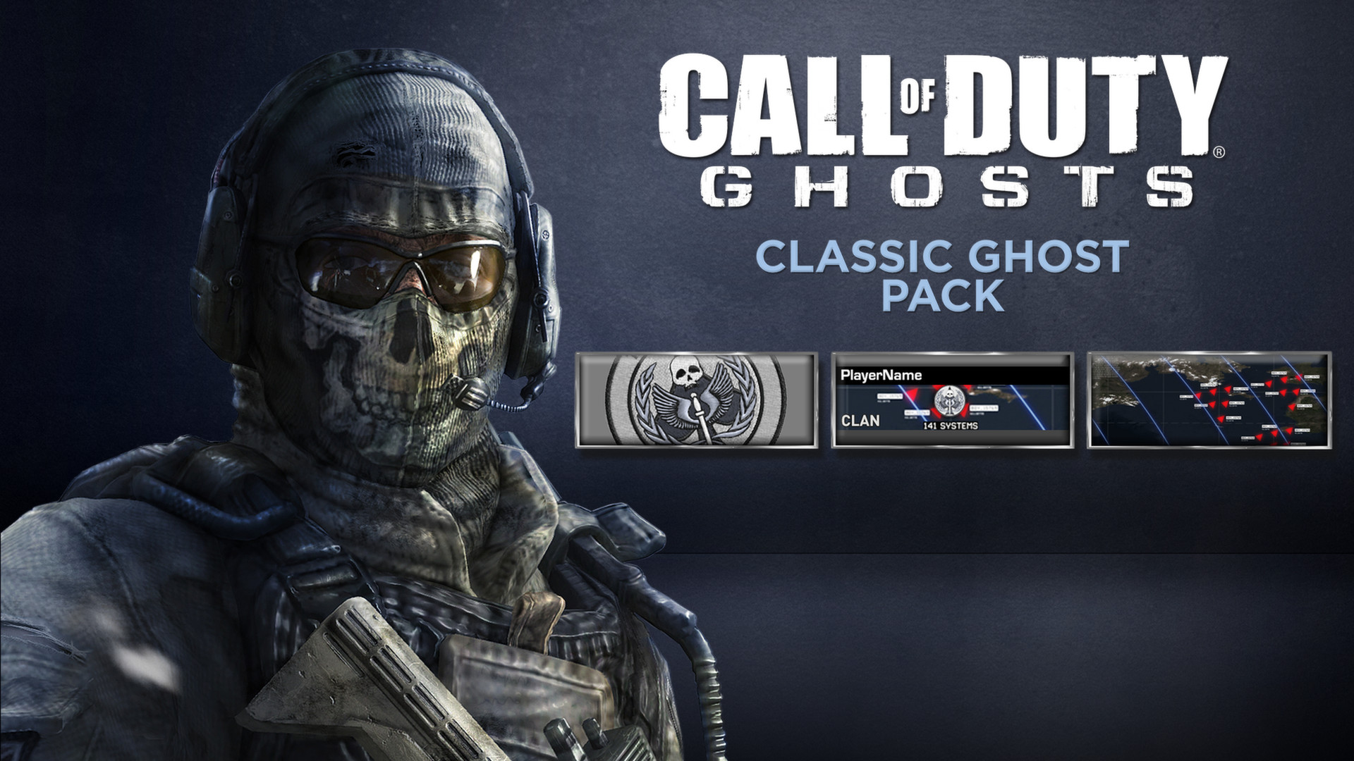 Call Of Duty Ghosts Classic Ghost Pack On Steam