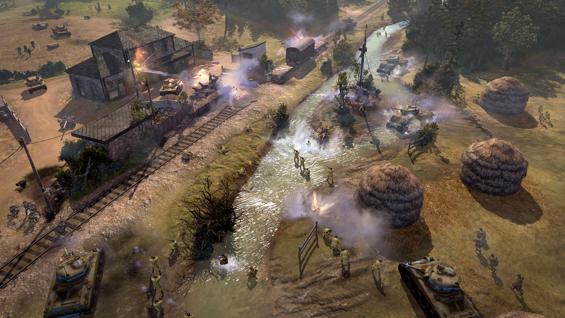 Coh 2 Case Blue : Buy company of heroes for mac and linux feral store