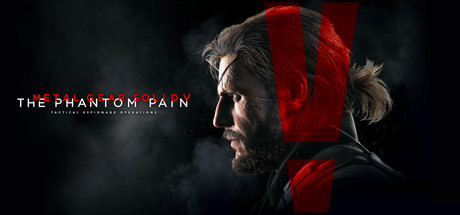 metal gear solid v the phantom pain cover