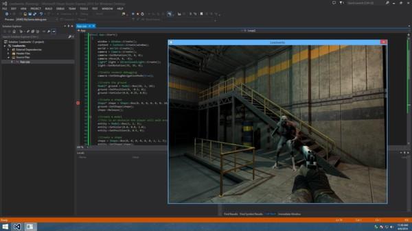 Скриншот из C++ SDK for Leadwerks Game Engine