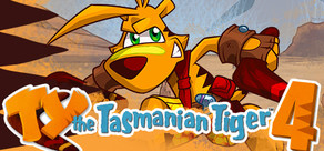 TY the Tasmanian Tiger 4 cover art