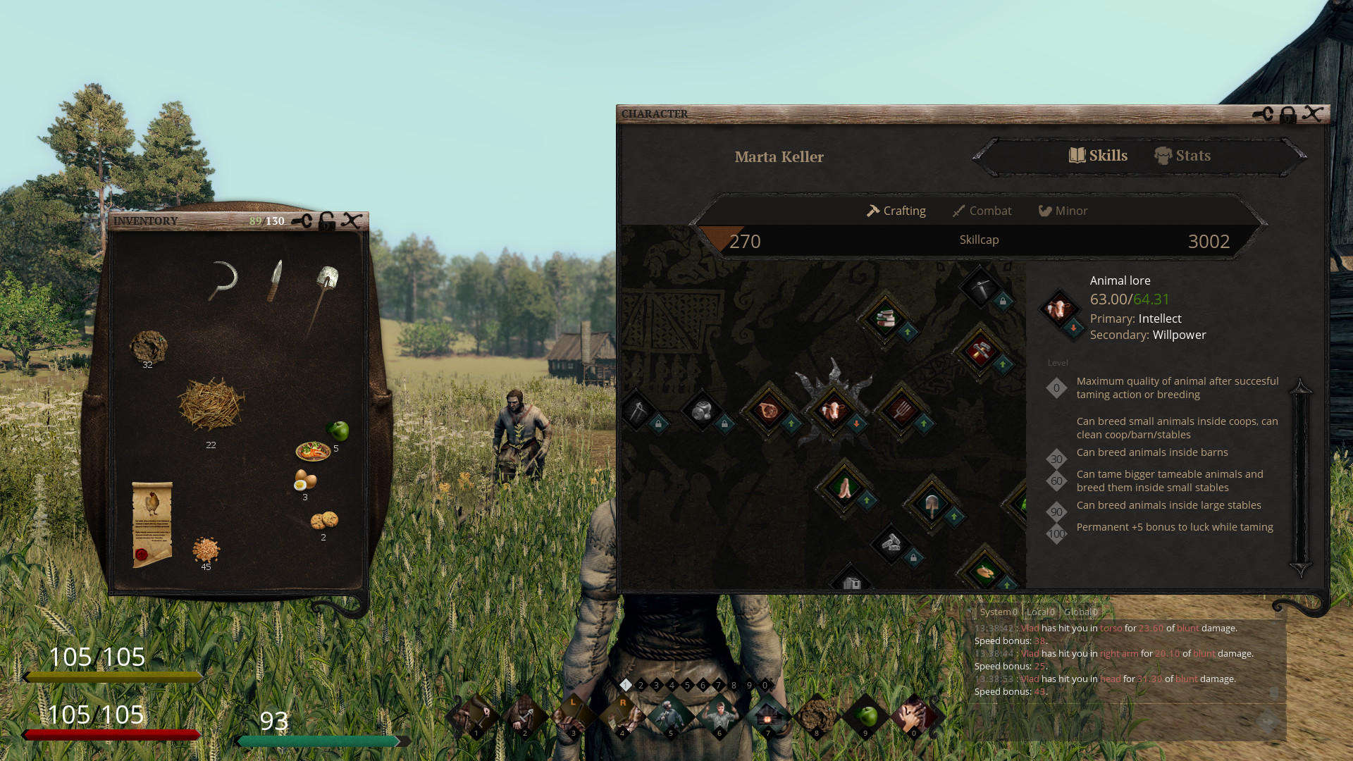 Screenshot of Life is Feudal: Your Own server hosting