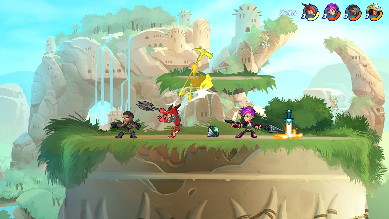 Brawlhalla ve službě Steam