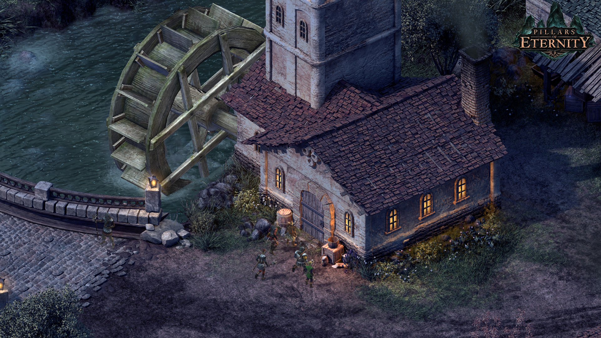 Obsidian Pillars of Eternity