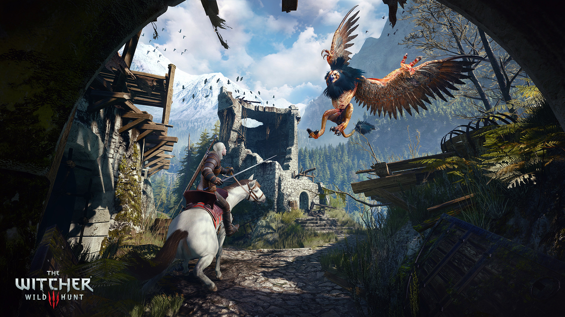 The Witcher 3 Wild Hunt ESPAÑOL PC Full + 16 DLC + Update v1.10 + Hearts Of Stone DLC + REPACK 6 DVD5 (JPW) 1