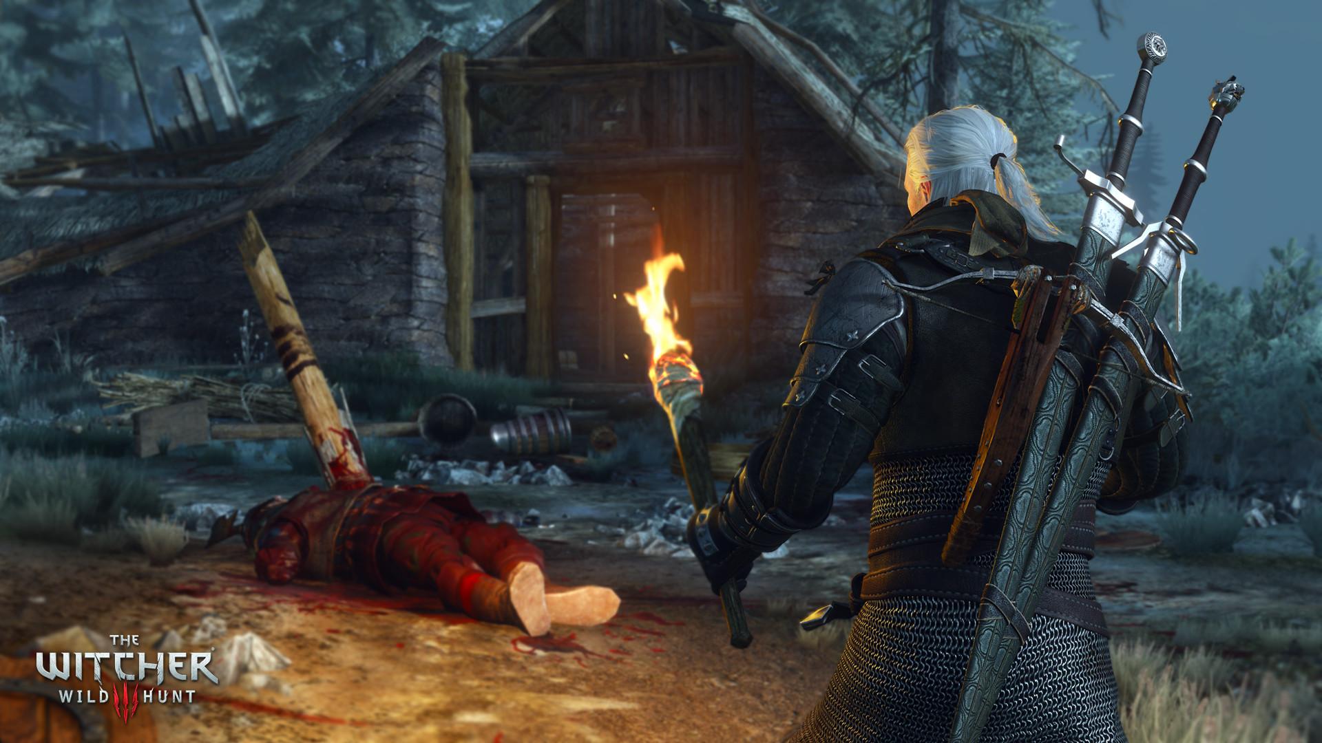 Hasil gambar untuk gambar game pc the withcer 3