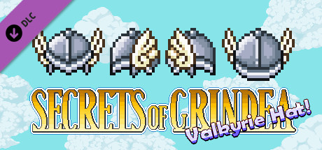 """Valkyrie Hat (or """"Buy Us Coffee"""") DLC for Secrets of Grindea"""