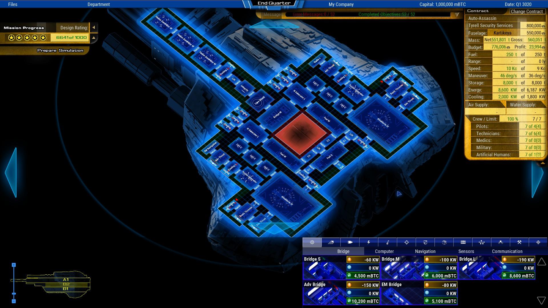 Starship Corporation On Steam - Spaceship design game