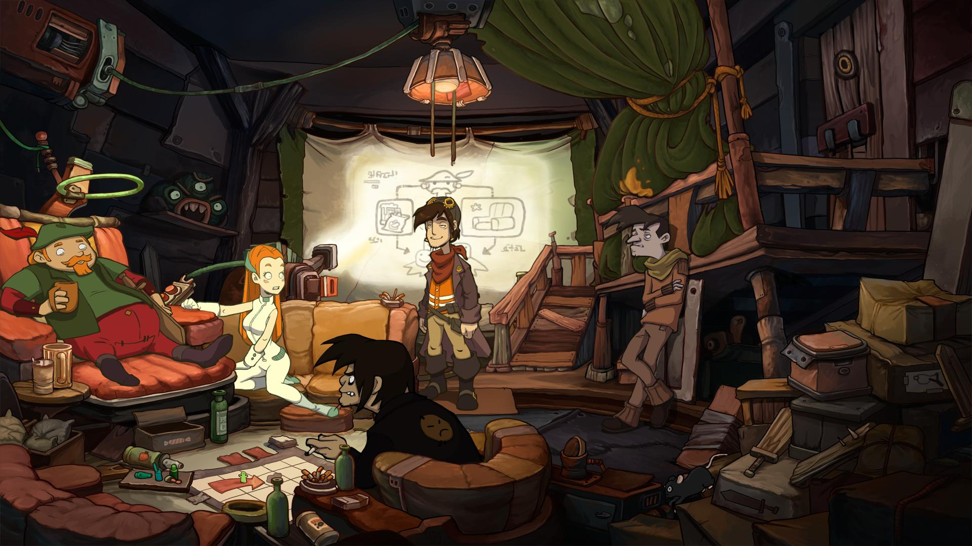 Image result for Deponia