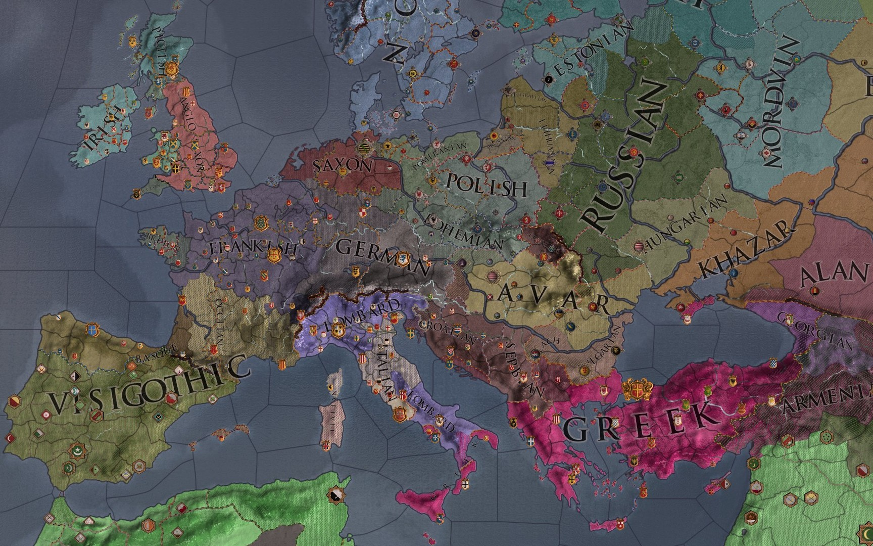 Expansion - Crusader Kings II: Charlemagne on Steam