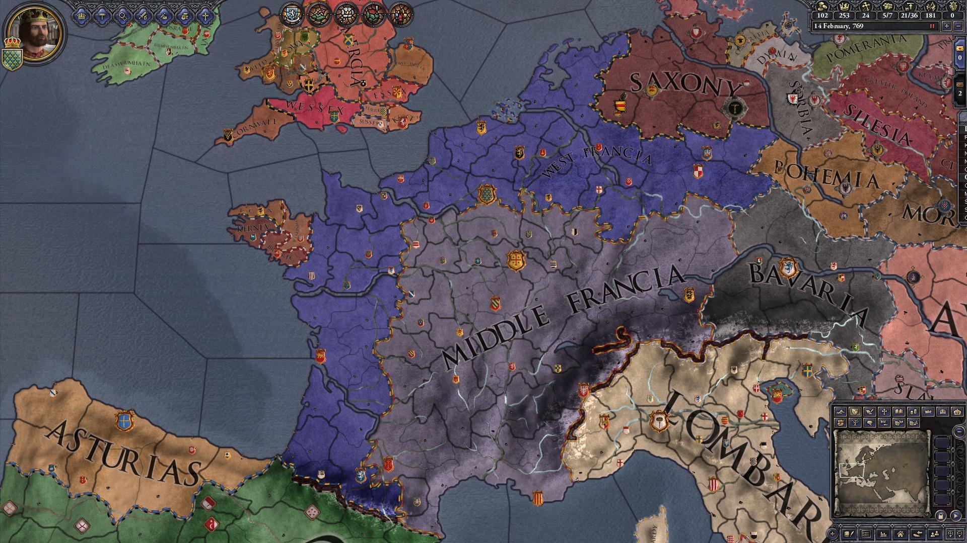 poupa 50 em expansion crusader kings ii charlemagne no steam