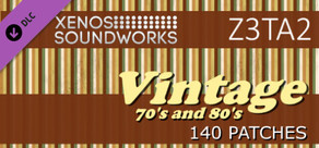 Z3TA+ 2 - Xenos Soundworks: Vintage 70's and 80's