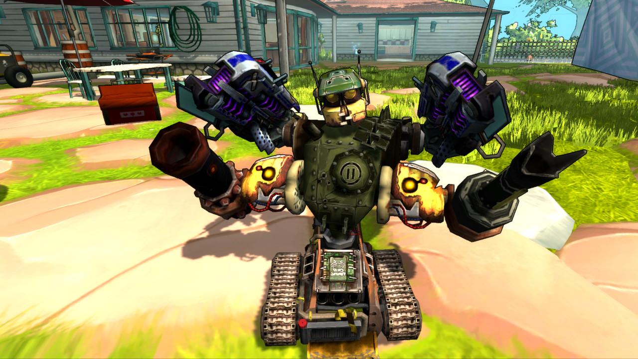 Guns and Robots on Steam