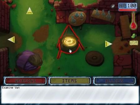 Screenshot of Dark Scavenger