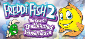 Freddi Fish 2: The Case of the Haunted Schoolhouse cover art