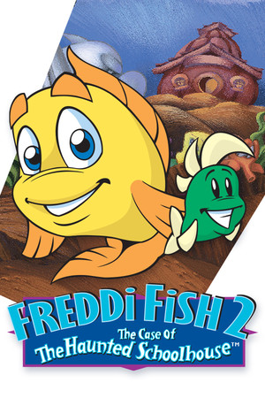 Freddi Fish 2: The Case of the Haunted Schoolhouse poster image on Steam Backlog