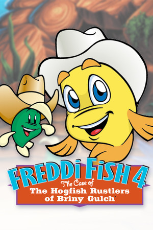 Freddi Fish 4: The Case of the Hogfish Rustlers of Briny Gulch poster image on Steam Backlog