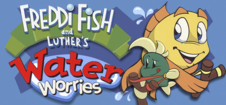 Freddi Fish and Luther's Water Worries title thumbnail