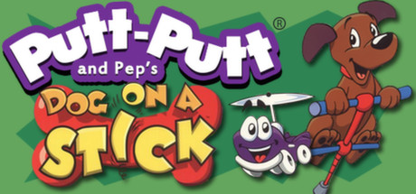 Putt-Putt and Pep's Dog on a Stick cover art
