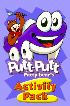 Putt-Putt and Fatty Bear's Activity Pack poster image on Steam Backlog